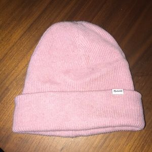 Pink Madewell hat